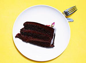 Gâteau au chocolat sans matières grasses